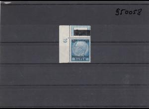 GG: Generalgouvernement MiNr. 8, **, postfrisch, DKZ 19L1c, Eckrand
