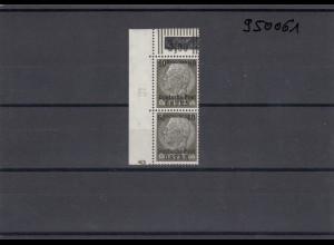 GG: Generalgouvernement MiNr. 10, **, postfrisch, DKZ 7L3a und Reihenzähler 10