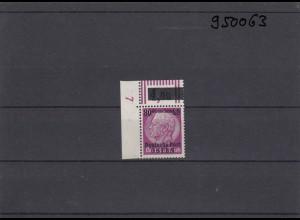 GG: Generalgouvernement MiNr. 11, **, postfrisch, DKZ 7L1a, Eckrand