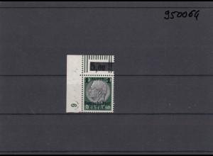 GG: Generalgouvernement MiNr. 12, **, postfrisch, DKZ 6L2a, Eckrand