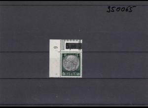 GG: Generalgouvernement MiNr. 12, **, postfrisch, DKZ 6L1a, Eckrand