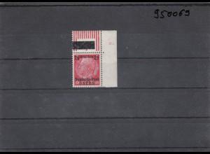 GG: Generalgouvernement MiNr. 6, **, postfrisch, versch. Nummern am rechten Rand