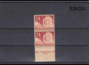 GG Generalgouvernement MiNr. 57, **, postfrisch, mit Sektorennummer 2