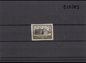 GG Generalgouvernement MiNr. 63 P6, *, Originalgummi, Probedruck, BPP Signatur