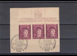 GG Generalgouvernement MiNr. 104 gestempelt Oberrand