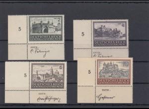 GG Generalgouvernement MiNr. 113-116, ** Eckrand E3