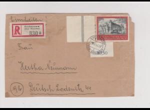 GG Generalgouvernement MiNr. 125, R-Brief Sochaczew, Vorderseite,