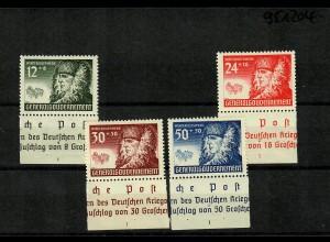 GG Generalgouvernement MiNr. 59-62, **, postfrisch, SektorNr. 1