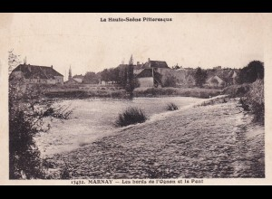 post card Marnay: Le grand pontLes bords de l' Ognon