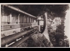 Ansichtskarte Murgwerk bei Forbach, Druckrohrleitung