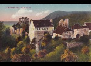 Ansichtskarte Lauterburg, Schlossruine