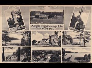 Ansichtskarte Truppenübungsplatz Ostpreußen, Arys