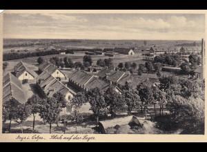 Ansichtskarte Arys in Ostpreussen, Blick auf Lager