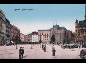 post card Brünn, Freiheitsplatz