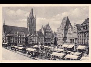 Ansichtskarte Trier, Hauptmarkt