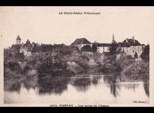 post card Marnay: Les bords de l' Ognon