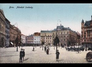 post card Brno