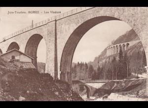 post card Jura Touriste: Morez Les Viaducs