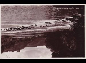 post card Besancon: Barrage de Micaud