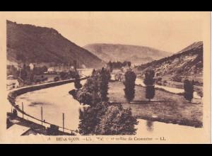 post card Besancon: Vallée