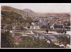 post card Besancon: Vue générale, Citadelle