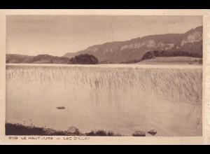 post card Le Haut Jura - Lac D' Illay