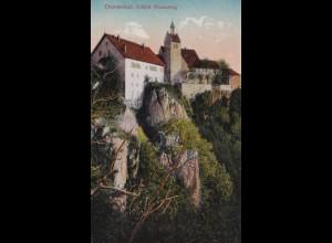 Ansichtskarte Donautal Schloss Werenwag