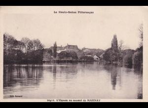 post card Marnay: La Haute-Saone Pitteresque