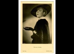 Postkarte Renate Müller, Ross Verlag, ca. 1937/38