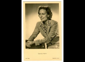 Postkarte Carola Höhn, Ross Verlag, ca. 1937/38