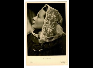 Postkarte Maria Denis, Firenze, ca. 1937/38