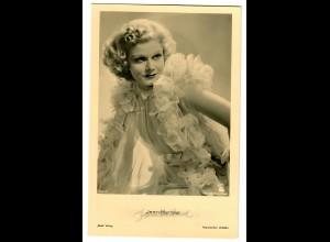 Postkarte Jean Harlow, Ross Verlag, ca. 1937/38