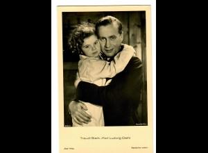 Postkarte Traudl Stark-Karl Ludwig Diehl, Ross Verlag, ca. 1937/38
