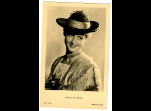 Postkarte Hansi Knoteck, Ross Verlag, ca. 1937/38