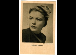 Postkarte Heidemarie Hatheyer, Ross Verlag, ca. 1937/38
