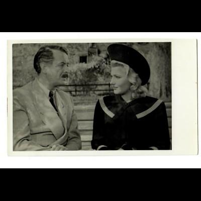 Postkarte Voigtländer, Schauspieler unbekannt, ca. 1937/38