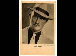 Postkarte Rudolf Fernau, Ross Verlag, ca. 1937/38