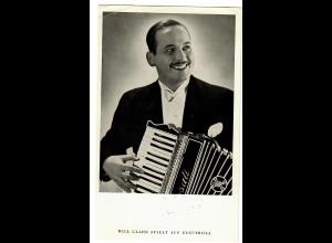 Postkarte Will Glahe/Electroloa, ca. 1937/38