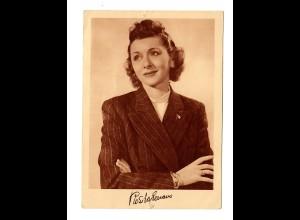 Postkarte Rosita Serrano, Telefunkenplatten, ca. 1938