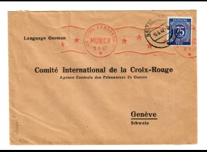 München / Geiselhöring: censorship nach Genf: Rotes Kreuz