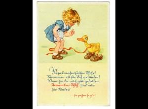 GG: Postkarte Kinder- Jugendschuhe mit Sonderstempel Lublin 1942 nach Zwönitz