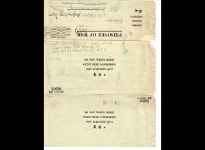 Kgf: PoW: Camp Fort Sheridan NY nach Radeberg 1945