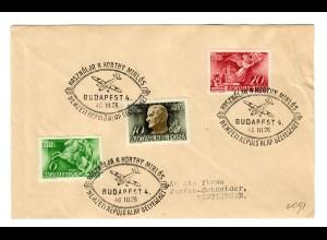 Ungarn: Budapest 1940 nach Reutlingen - Flugzeug