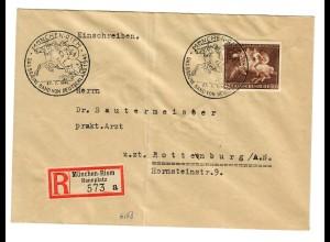 Einschreiben München Riem, Das Braune Band von Deutschland 1941