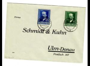 Brief Ulm 1940