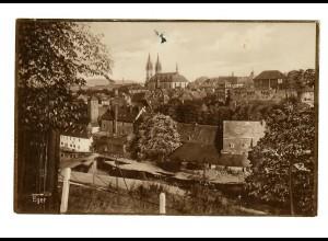 Ansichtskarte Eger 1938 nach Rottenburg/N