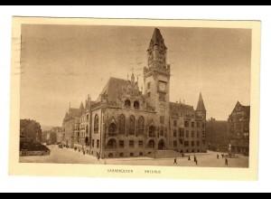 Ansichtskarte Saarbrücken 1935 nach Rottenburg/N