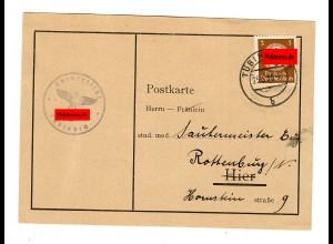 Prüfungskommission 1936: Vorprüfung Tübingen nach Rottenburg/N