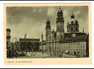 Nährmittel HIPP Vertrieb: Geburtstagskarte Führer 1937 - München mit Sonderstempel