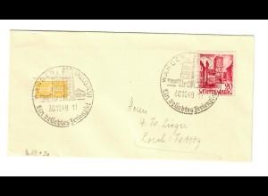 Brief aus Sonderstempel Wangen 1949